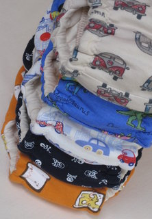 5 Stinky Couture diapers